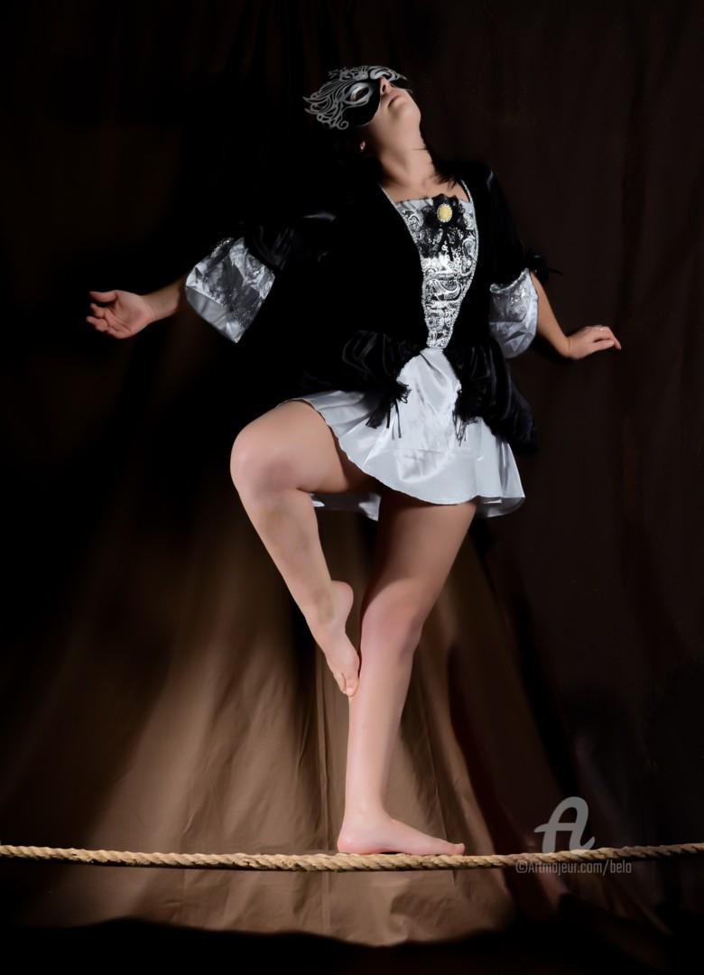 David BELO - La danseuse funambule